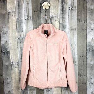 The North Face Pink Rose Gold Fleece Size Medium